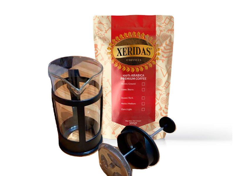 KIT-PRENSA - Xeridas coffee